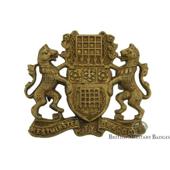 Westminster Dragoons Regiment Collar Badge