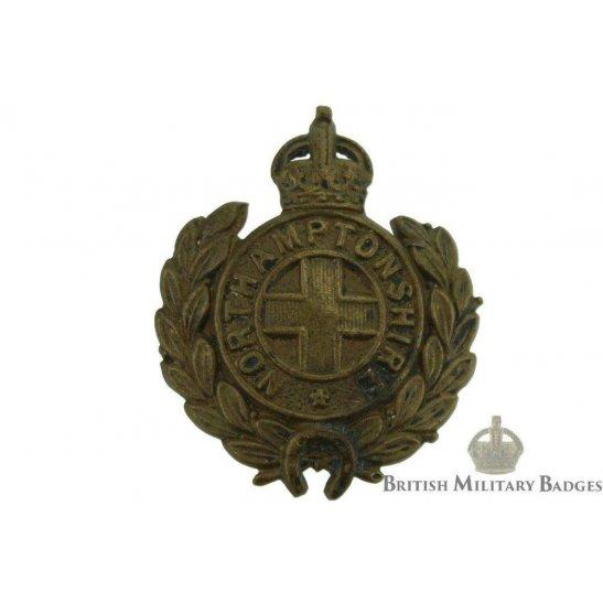 Northamptonshire Regiment Collar Badge