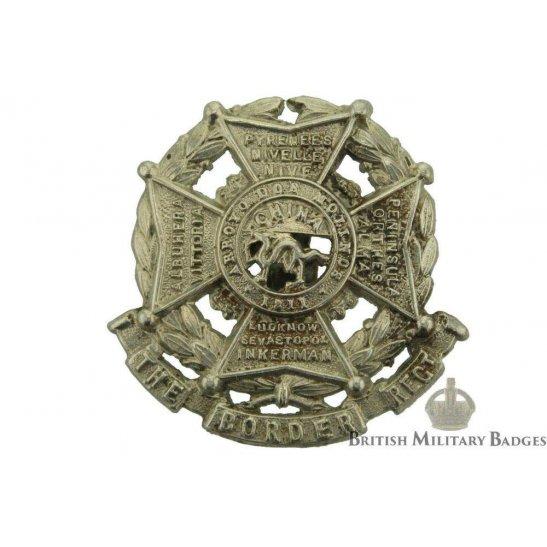 The Border Regiment Collar Badge
