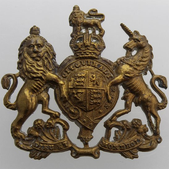 General Service Corps General Service Corps / Regiment Cap Badge - LUG VERSION