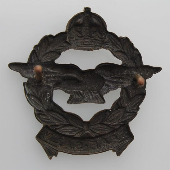 additional image for WW2 South African Air Force SAAF Africa Corps Cap Badge