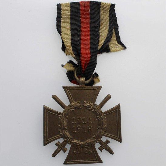 WW1 German Army WW1 Imperial German Hindenburg Cross / The 1914 1918 Honour Cross