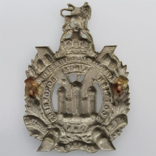additional image for WW2 Kings Own Scottish Borderers Regiment KOSB (King's) Cap Badge