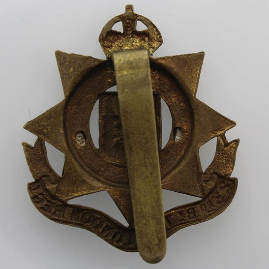 additional image for WW1 23rd Battalion, County of London Regiment Cap Badge