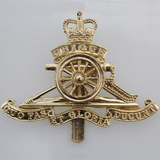 Royal Artillery Royal Artillery Regiment Staybrite Anodised Cap Badge - Staybright