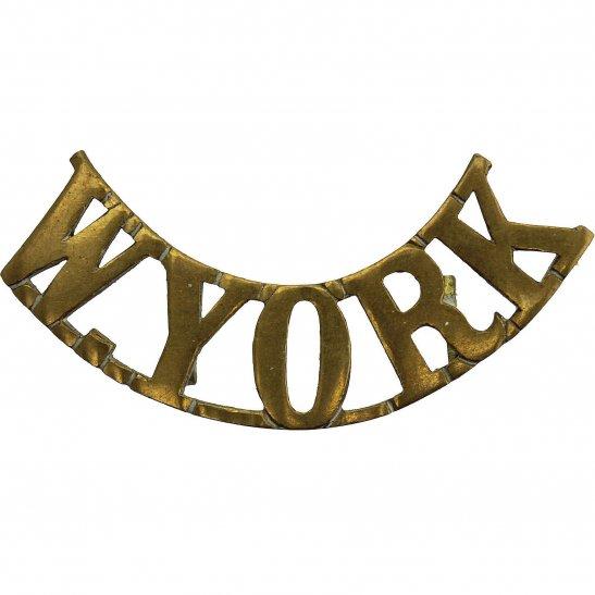 West Yorkshire West Yorkshire Regiment Shoulder Title