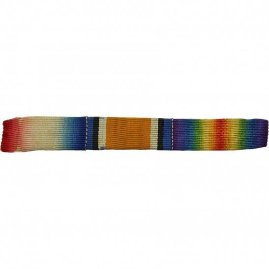 WW1 Trio (1914/15 Star, British War & Victory Medal) Ribbon Bar - SEW ON
