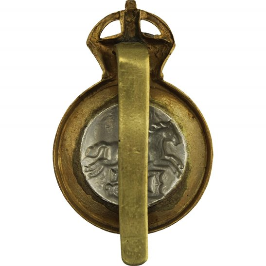 additional image for WW1 5th Dragoon Guards Regiment Cap Badge