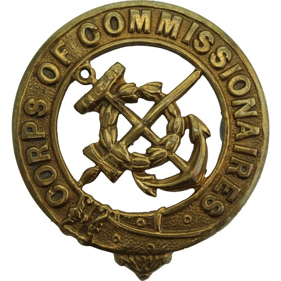 Corps of Commissionaires Company Cap Badge