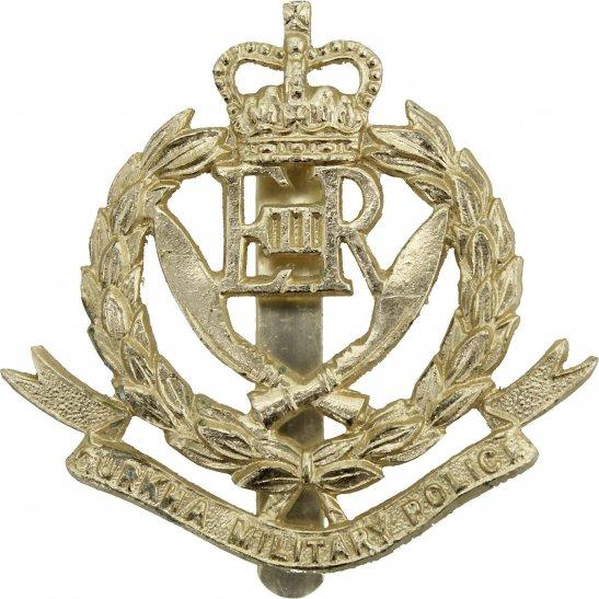 Gurkha Corps Gurkha Military Police Staybrite Anodised Cap Badge - Staybright