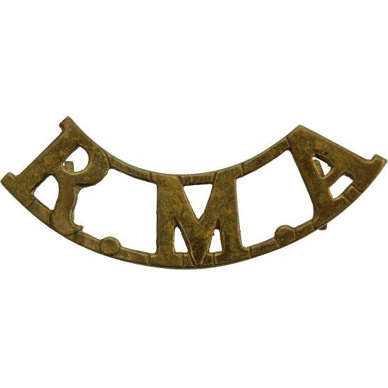 Royal Artillery Royal Malta Artillery RMA Maltese Colonial Regiment Shoulder Title