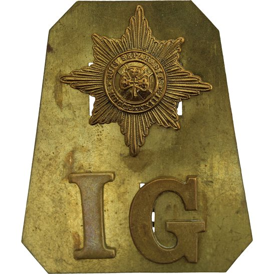 Irish Guards Irish Guards Regiment Shoulder Title