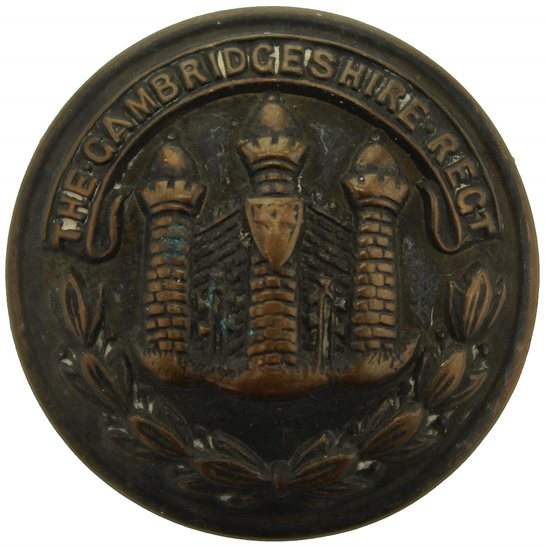 Cambridgeshire Regiment Cambridgeshire Regiment Tunic Button - 26mm