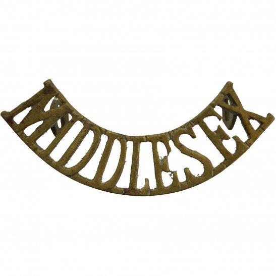 Middlesex Regiment Middlesex Regiment Shoulder Title