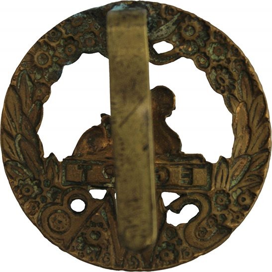 additional image for WW1 South Wales Borderers SWB Regiment Cap Badge