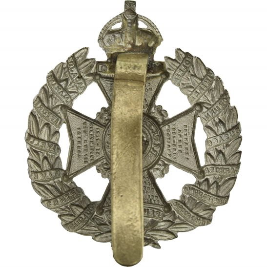 additional image for WW1 The Rifle Brigade (Prince Consort's Own) Regiment Cap Badge