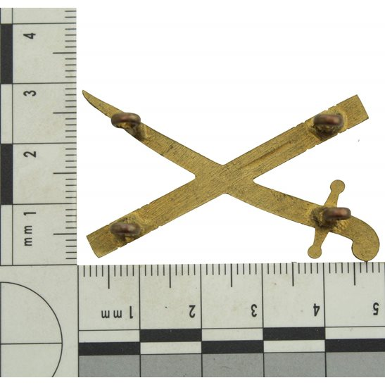 additional image for British Army General's Crossed Sword & Baton Insignia Rank Pip