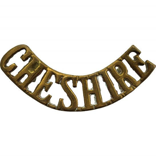 Cheshire Regiment Cheshire Regiment Shoulder Title