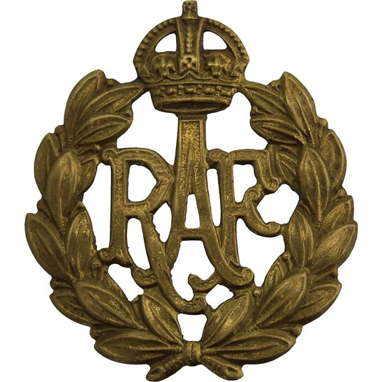 Royal Air Force RAF WW2 Royal Air Force RAF Cap Badge