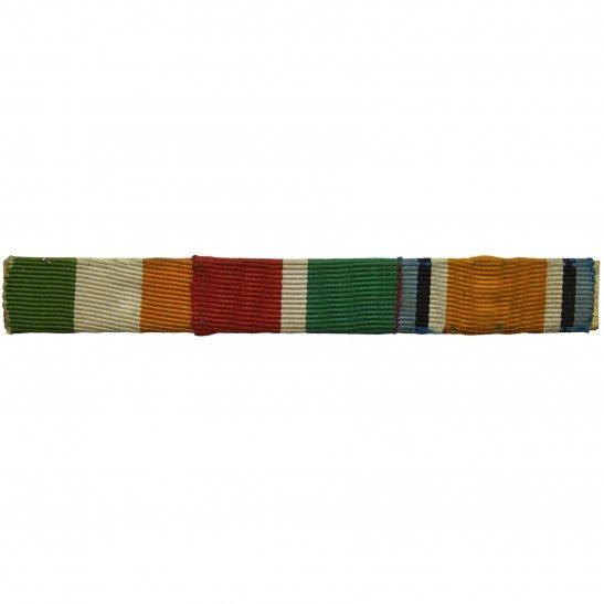 WW1 Trio (Kings South Africa, Mercantile Marine & British War) Ribbon Bar - PIN BACK