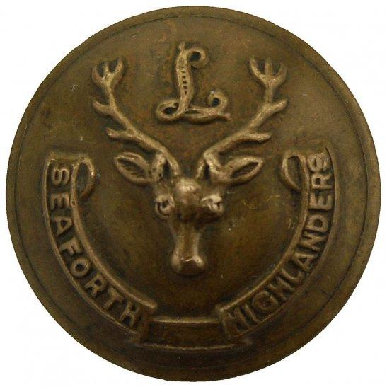 Seaforth Highlanders Seaforth Highlanders Scottish Regiment SMALL Tunic Button - 21mm