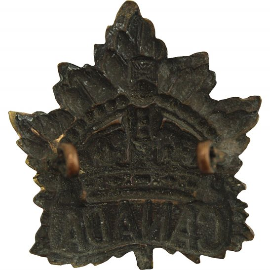 additional image for WW1 Canadian Army Division / Canada Corps CEF Cap Badge