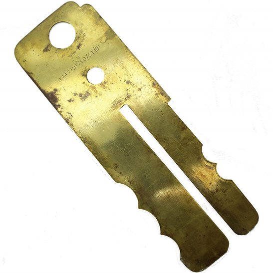 WW2 1940 Brass Button Cleaner / Polisher Uniform Protector Stick
