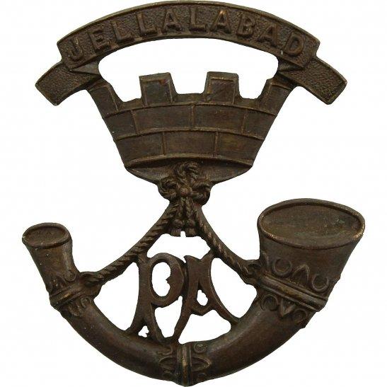 Somerset Light Infantry Somerset Light Infantry Regiment OFFICERS Bronze Collar Badge