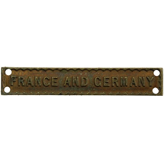 WW2 FRANCE AND GERMANY Clasp Bar for Atlantic Star Campaign Medal