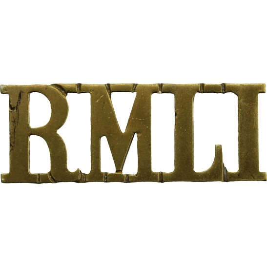 Royal Marine Light Infantry RMLI Royal Marine Light Infantry RMLI Regiment Shoulder Title
