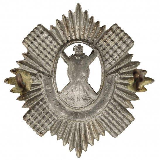additional image for WW2 Royal Scots Regiment Scottish Cap Badge