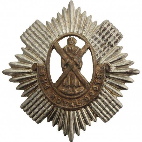 Royal Scots WW2 Royal Scots Regiment Scottish Cap Badge