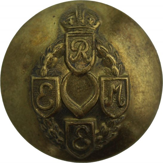 Royal Electrical & Mechanical Engineers Corps REME WW2 Royal Electrical & Mechanical Engineers Corps REME Tunic Button - 26mm