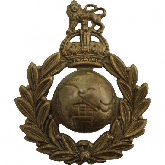 Royal Marines WW1 Royal Marines Commando Corps Cap Badge