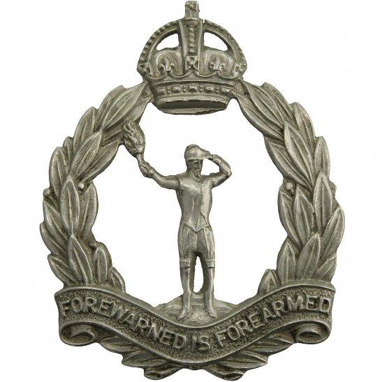 Royal Observer Corps WW2 Royal Observer Corps ROC Cap Badge