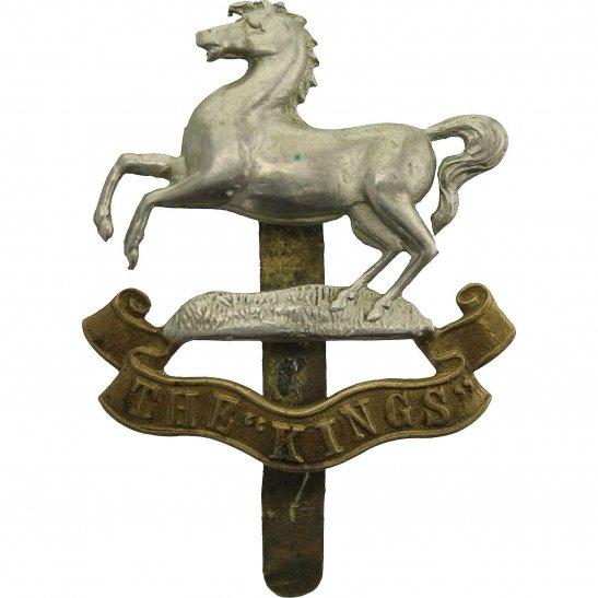Kings Liverpool WW1 Kings Liverpool Regiment (King's) Cap Badge - FIRST PATTERN
