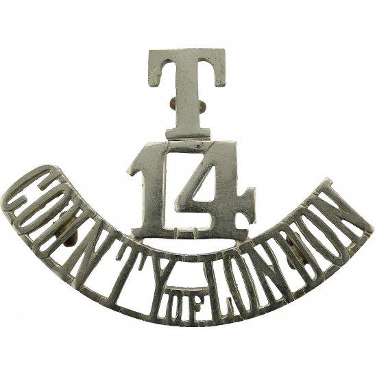 London Scottish 14th Territorial Battalion, London Scottish Regiment Shoulder Title