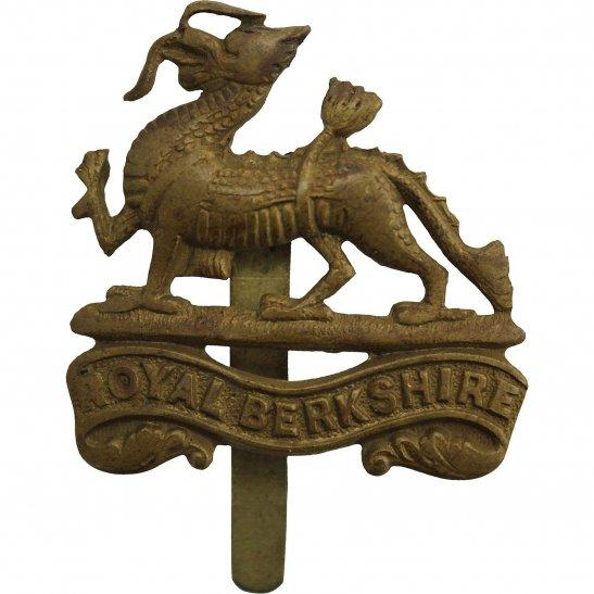 Royal Berkshire WW1 Royal Berkshire Regiment Cap Badge