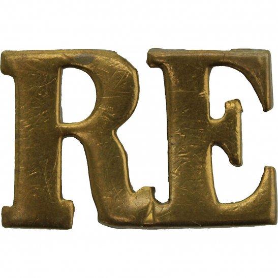 Royal Engineers WW1 Royal Engineers Corps Shoulder Title