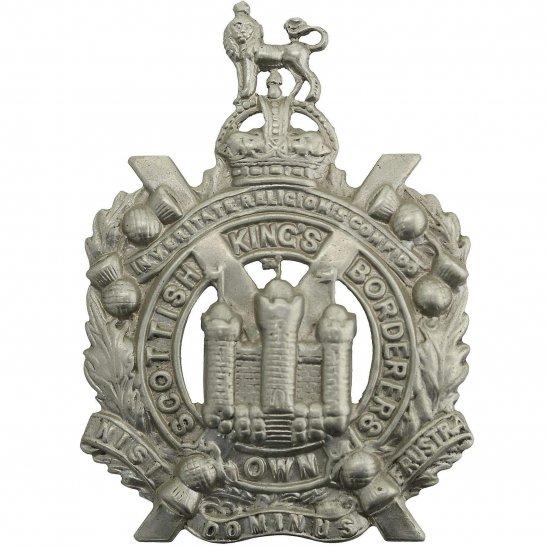Kings Own Scottish Borderers WW1 Kings Own Scottish Borderers Regiment KOSB (King's) Cap Badge