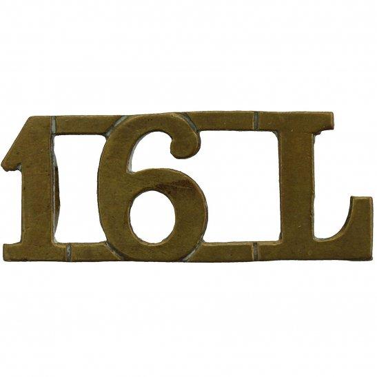 16th Lancers WW1 16th The Queens Royal Lancers Regiment Shoulder Title
