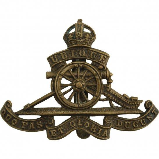 Royal Artillery WW1 Royal Artillery Regiment Cap Badge STRENGTHENED SLIDER VERSION