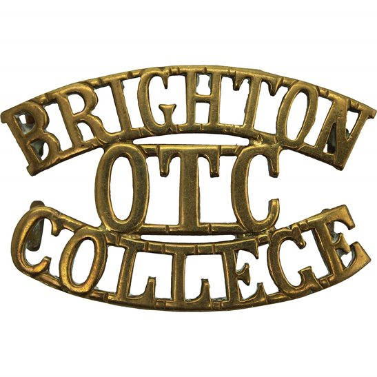 Officer Training Corps OTC Brighton College OTC Officers Training Corps Shoulder Title