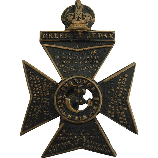 Kings Royal Rifle Corps KRRC WW1 Kings Royal Rifle Corps KRRC Regiment (King's) Cap Badge