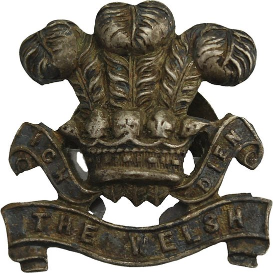 Welsh Regiment The Welsh Regiment Welch Old Comrades Association OCA Lapel Badge