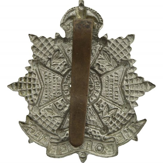 additional image for WW2 The Border Regiment Cap Badge