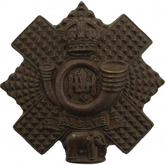 Highland Light Infantry Highland Light Infantry HLI Scottish Regiment OFFICERS Bronze Collar Badge