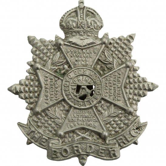 Border Regiment WW2 The Border Regiment Cap Badge