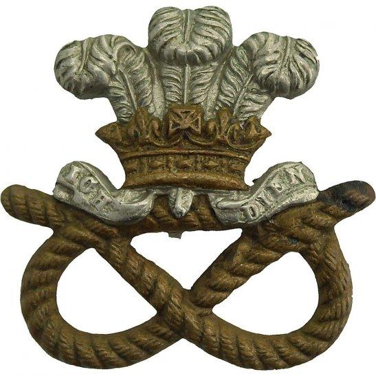 North Staffordshire WW2 North Staffordshire Regiment Collar Badge
