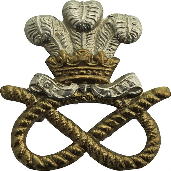 North Staffordshire North Staffordshire Regiment Collar Badge
